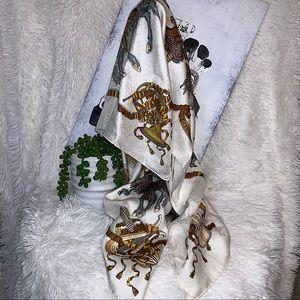 Hermès Les Fêtes Du Roi Soleil Silk Jacquard Scarf